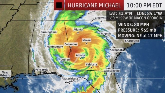 Apple to Donate to Hurricane Michael Relief Efforts