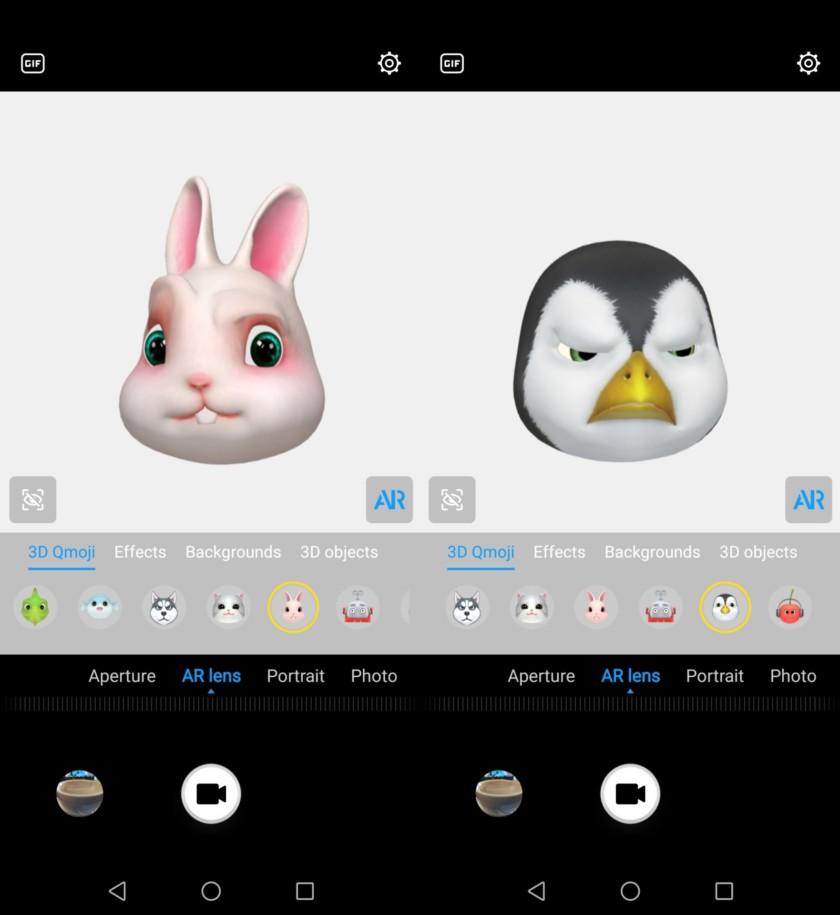 Huawei Mate 20 Lite Animoji