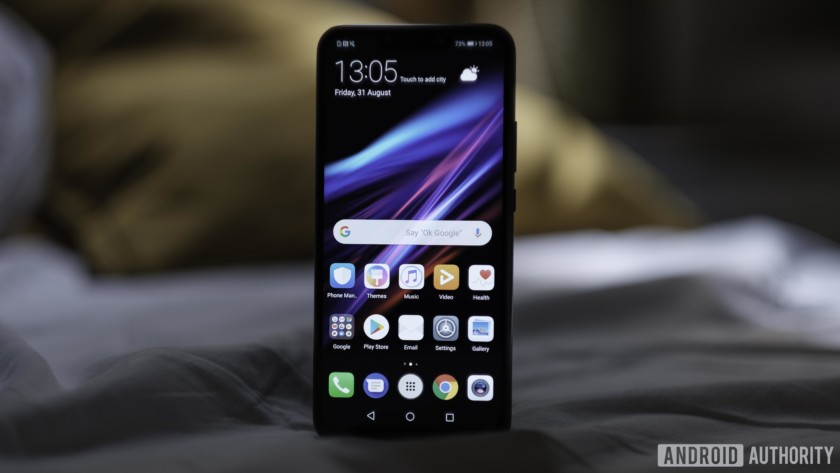 Huawei Mate 20 Lite front facing cameras