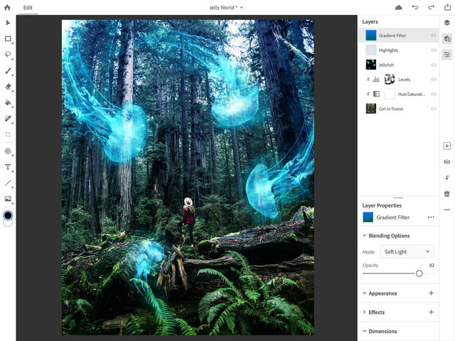photoshop for ipad lightroom updates adobe max 2018 ps cc on 6