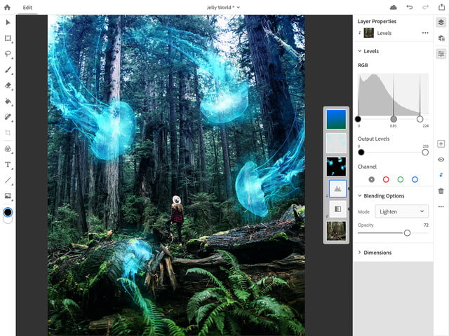 photoshop for ipad lightroom updates adobe max 2018 ps cc on 4