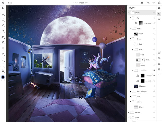 photoshop for ipad lightroom updates adobe max 2018 ps cc on 2