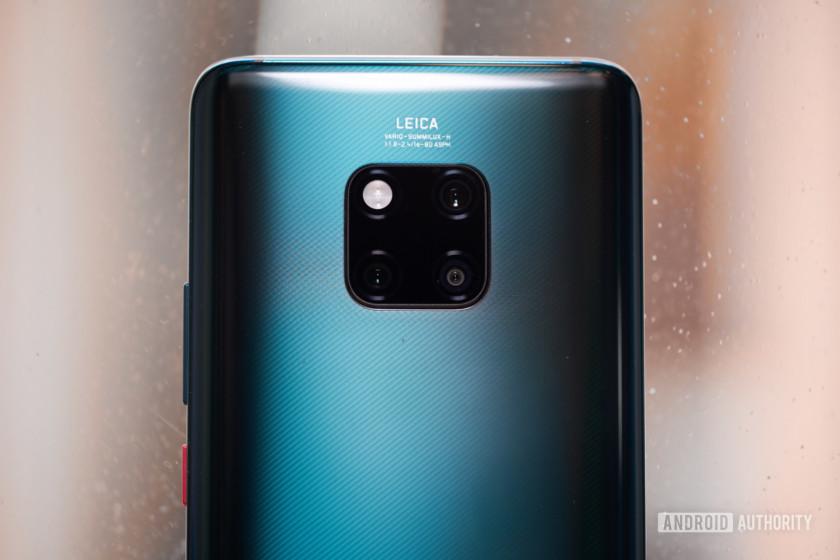Huawei Mate 20 cameras
