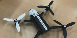 Self-correcting quadcopter can keep itself aloft even if one rotor fails