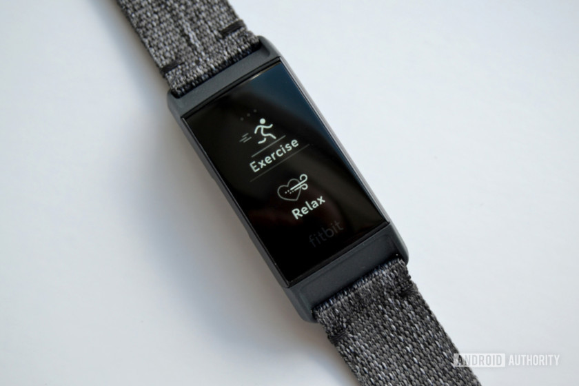 fitbit charge 3 review exercise relax apps oled display