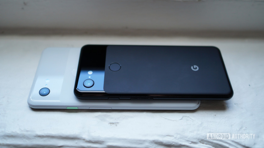 Google Pixel 3 and Pixel 3 XL design