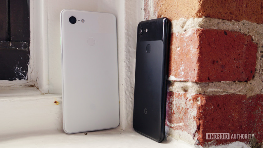 Google Pixel 3 and Pixel 3 XL back panels