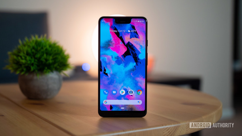 Google Pixel 3 XL display