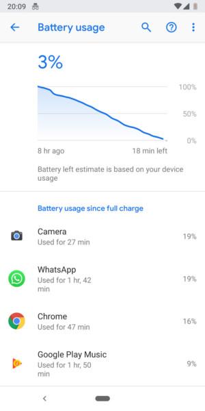 Google Pixel 3 battery - 3-2