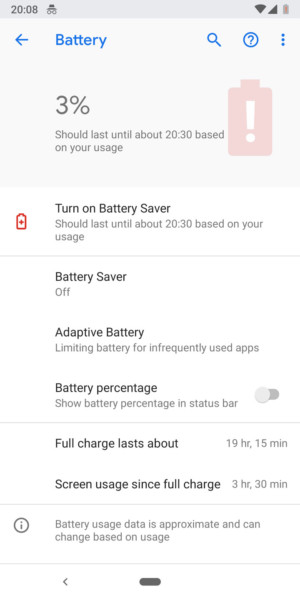 Google Pixel 3 battery - 3-1