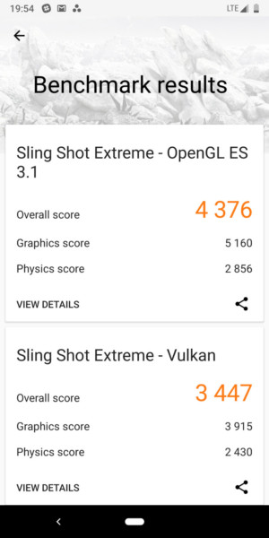 Google Pixel 3 benchmark - 3D Mark