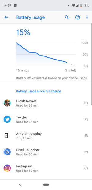 Google Pixel 3 XL battery - 1-2