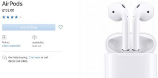Apple's AirPods Out of Stock in Many European Countries [Update: Back in Stock]