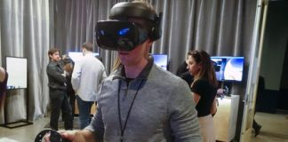 Microsoft patent highlights a potential VR text input system
