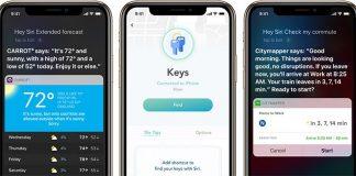 Apple Highlights Apps Offering Siri Shortcuts Integration