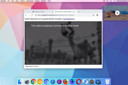 Google Chrome 70 is finally getting a picture-in-picture mode