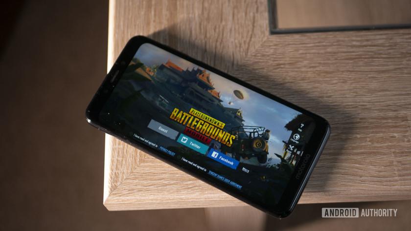 Motorola One PUBG