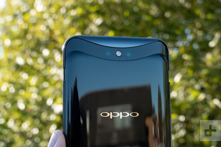 oppo find x lamborghini top back