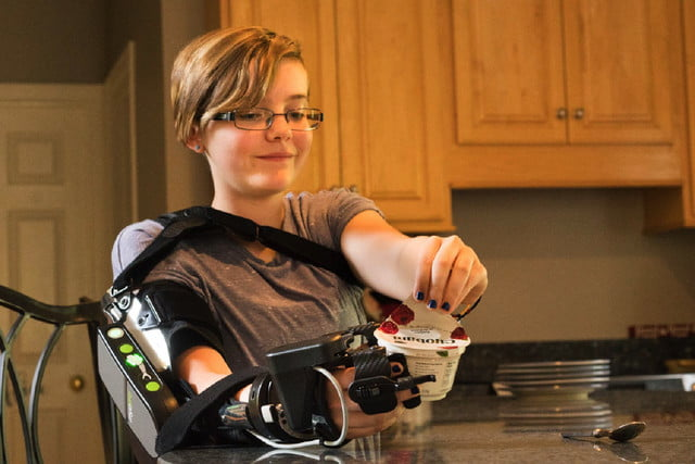 myopro powered arm brace 2 yogurt