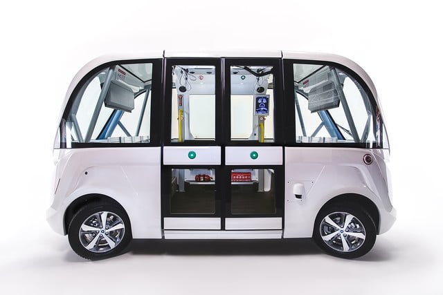 the challenges of driverless shuttles in smart cities navya autonomous shuttle 5