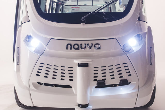 the challenges of driverless shuttles in smart cities navya autonomous shuttle 1