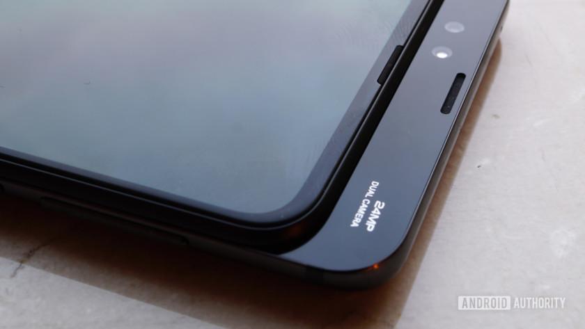 Xiaomi Mi Mix 3 - slider mechanism