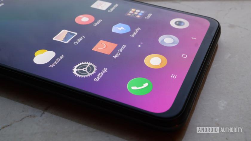 Xiaomi Mi Mix 3 - bottom bezel