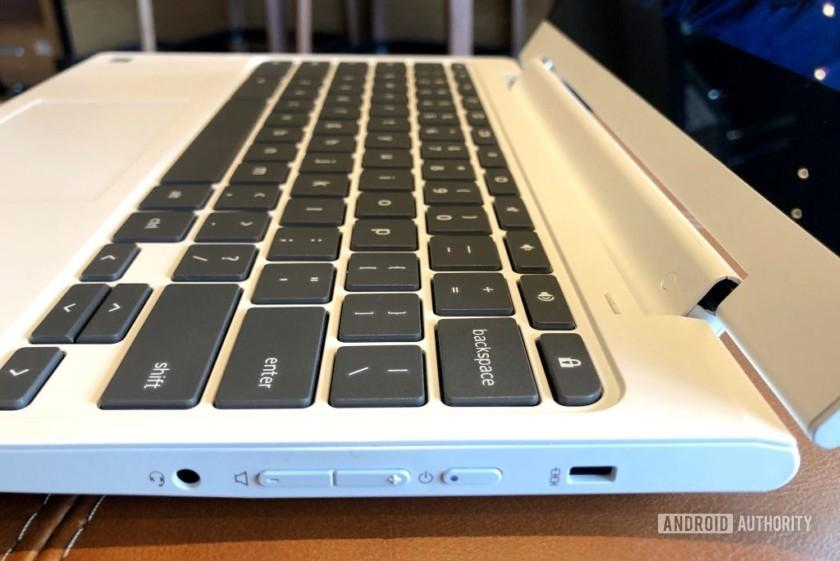 lenovo chromebook c330 ports right
