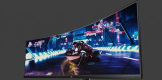 Asus' new monitor is 49 inches of high-speed gaming goodness