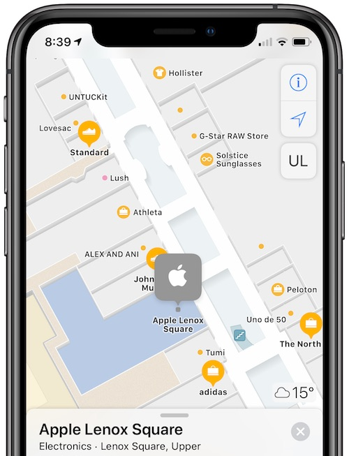 Apple Maps Gains Indoor Maps at Over 20 Additional Shopping Malls and Airports Around the World