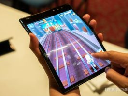 Hands-on with the world's first foldable smartphone