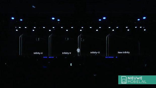 Ook Samsung-telefoons krijgen een notch