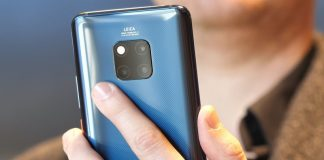 Huawei's Mate 20 Pro faces biometrics in a whole new way