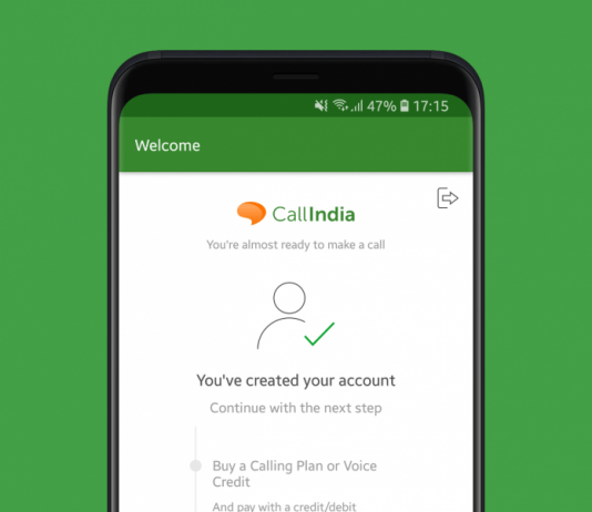 Avoid exorbitant prices on long-distance calls and use CallIndia instead (Overview)