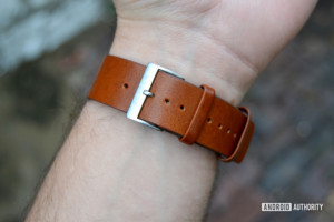 skagen falster 2 review design display watch band leather