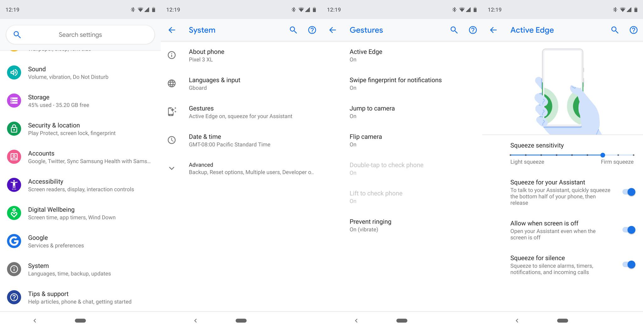 How to customize Active Edge on the Google Pixel 3 - AIVAnet