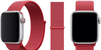 Apple Watch Gains New (PRODUCT)RED Sport Loop