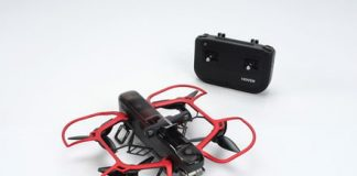 Meet the 4K selfie drone that folds like a book, follows you like a paparrazzo