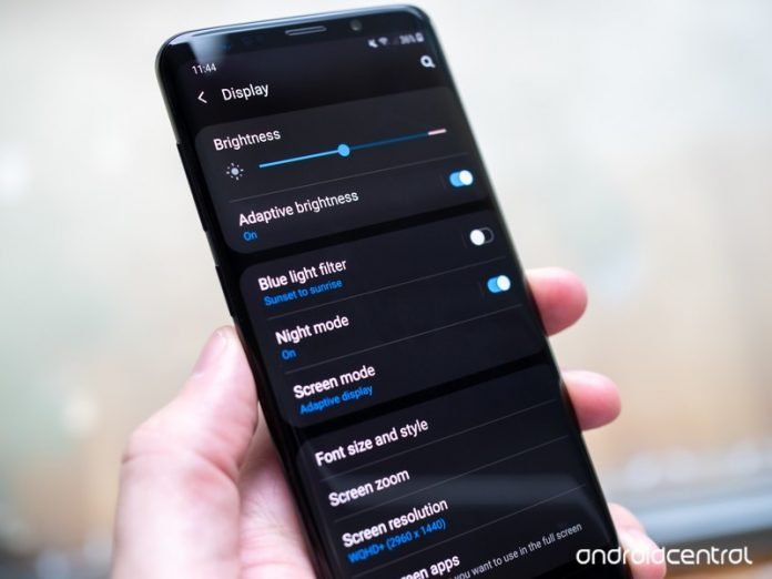 How to enable One UI's dark mode on the Galaxy S9 and Note 9