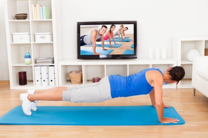 Best eight apps for working out at home