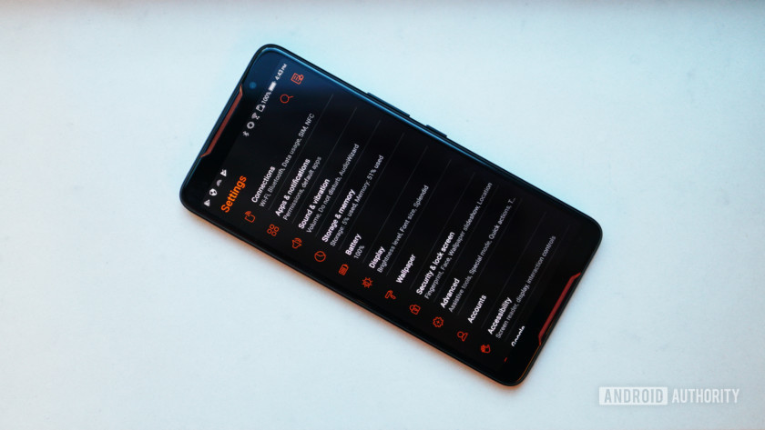 Asus ROG Phone settings