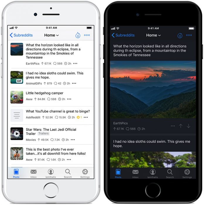 Reddit Client 'Apollo' Updated With Quick Switch Account Feature, Enhanced Subreddit Options, and More