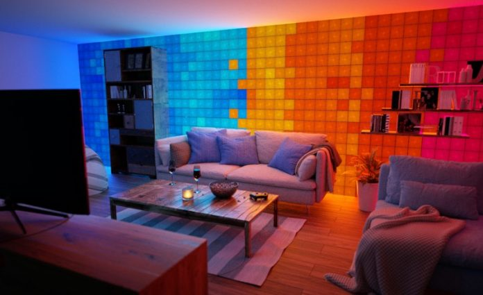 Nanoleaf's New Touch-Enabled Canvas Offers Up Fun, Interactive Mood Lighting