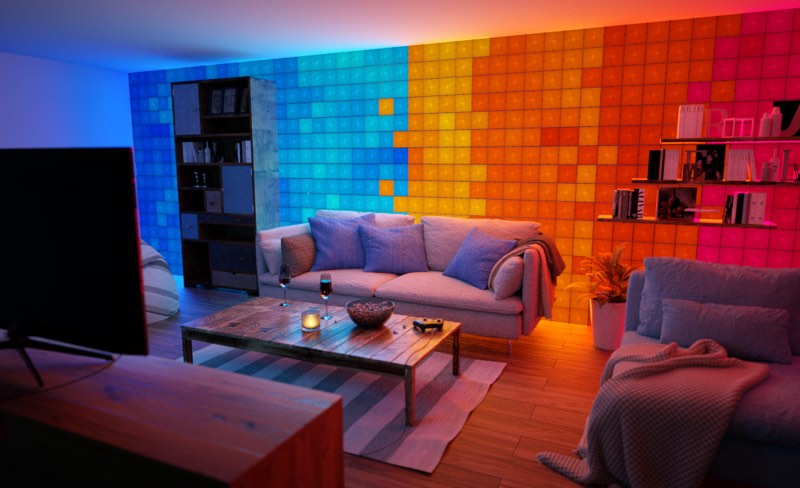 Nanoleaf's New Touch-Enabled Canvas Offers Up Fun
