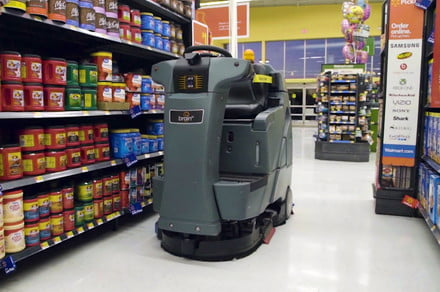Robot janitors will soon be scrubbing floors at your local Walmart