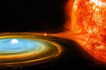 White dwarf start unexpectedly emitting bright 'supersoft' X-rays