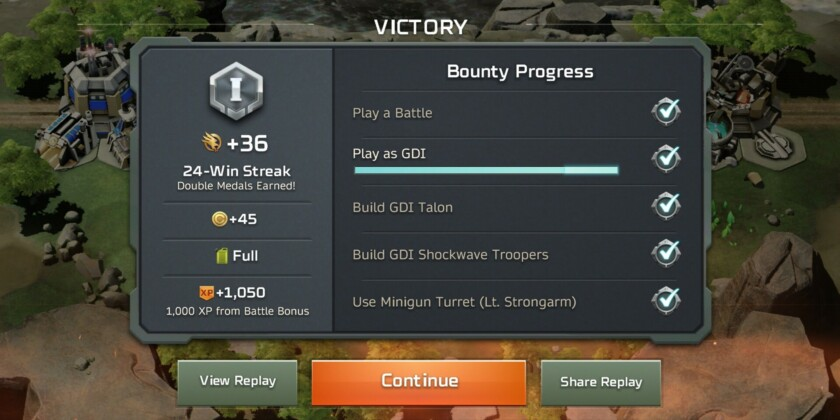 Command and conquer rivals review bounties experience