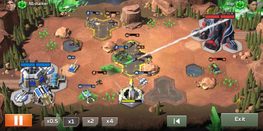 Command and conquer rivals review battlefield