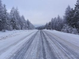 A lidar-equipped truck knows exactly how much de-icer to apply on roads