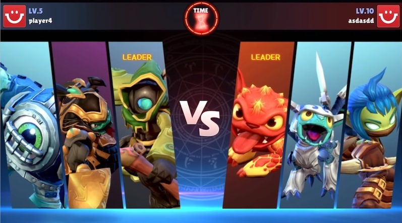 Skylanders Ring of Heroes review PvP screen